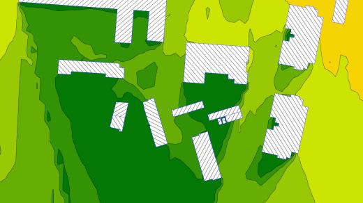 Mapa hałasu | Mapa hałasu w środowisku
