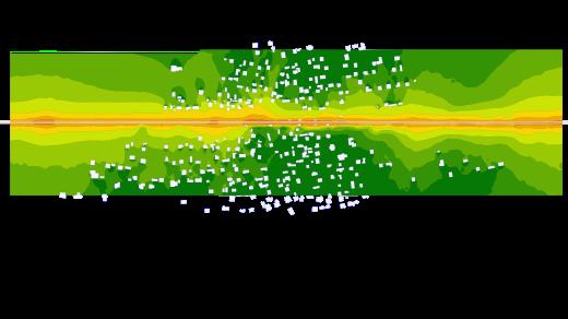 Mapa hałasu E30 fragment